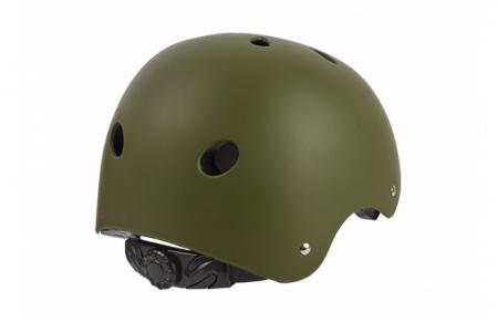 Casca Dirt-Bmx Polisport Urban Radical, unisize(53-55), negru/verde1