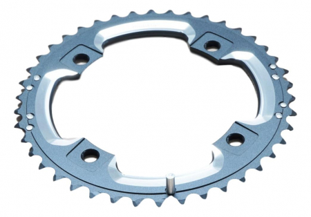 Chain Ring Mtb 42T S2 120 Al6 Blast Black L-Pin Gxp Cnc 2X100