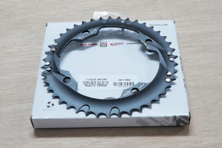 Chain Ring Mtb 42T S2 120 Al6 Blast Black L-Pin Gxp Cnc 2X101