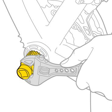 Unealta Cheie Monobloc Topeak Bb-Tool, Tps-Sp18 - Argintiu [1]
