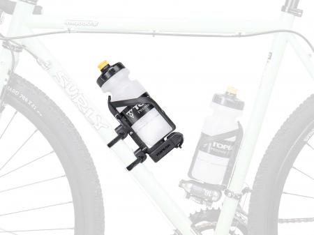 Coliere Din Plastic Topeak Versamount Tvm01, suport bidon/scule, negru2