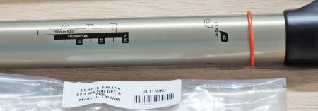 "Csu Dual Position Coil Aluminum Steerer 11/8"" Sektor3"