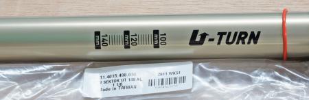 """Csu, U-Turn Coil 140Mm, Aluminum Steerer 1 1/8"""" - Sektor3"""
