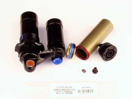 Damper Body/Reservoir Assy, 216X63/222X70/229X70 (Assembled) 2011 Vivid R2C (Compatible With 2009-2010)1