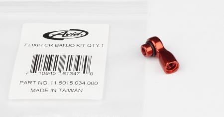 Elixir R/Cr/Cr Mag/X0/Elixir 9/Elixir 7 Banjo Kit, Red, Qty 12