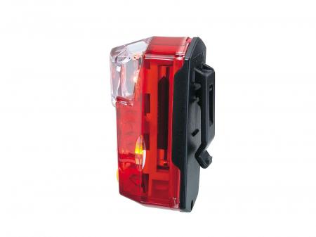 Far Spate Topeak RedLite, TMS047 - Negru-Rosu [4]