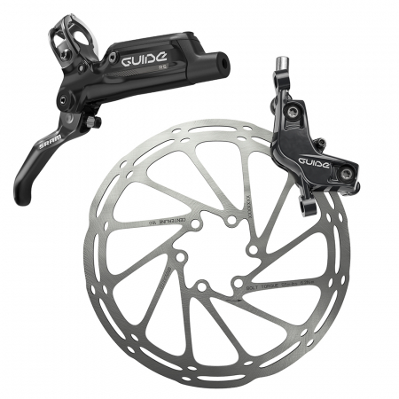 Frana Disc Hidraulica Sram Guide Rs Spate  R1800 B1, rotor+adaptor0