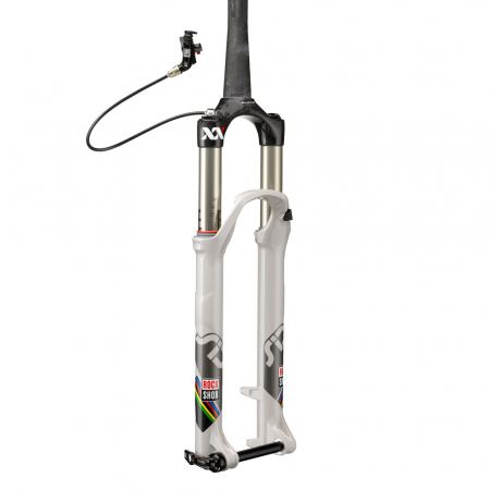 Furca Bicicleta Rockshox Sid Xx Wc D-Air, X-Remote,PM, alba [1]