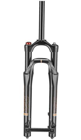 Furca Bicicleta Rst Space Jump 26/27.5Dirt, Disc PM(max.203),brate36,  offset38,ax Qr20, neagra0