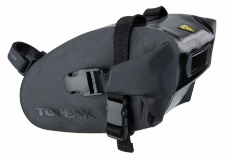 Geanta-Borseta Sa Topeak Wedge Dry Bag, complet rezistenta apa,neagra cu elemente 3M reflectorizante0