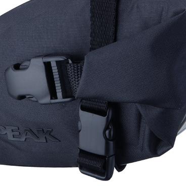 Geanta-Borseta Sa Topeak Wedge Dry Bag, complet rezistenta apa,neagra cu elemente 3M reflectorizante3