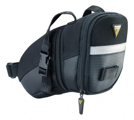 Geanta-Borseta Tija-Sa Topeak Aero Wedge Pack Tc2260B-08 - Volum 0.66 L, Negru [0]