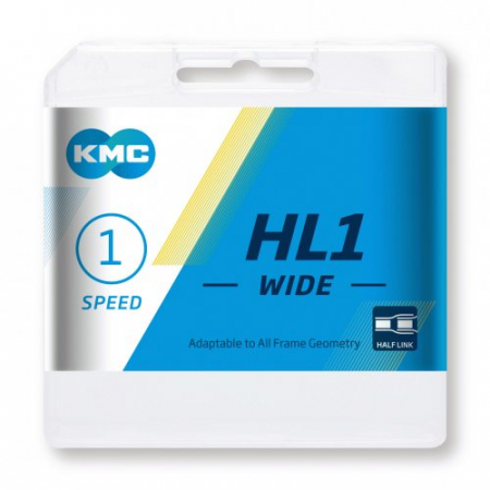 Lant KMC HL1 Wide, 100zale, Argintiu2