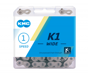 Lant KMC K1 Wide, 110 zale, Argintiu [2]