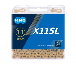 Lant KMC X11 Gold, 118 zale, Auriu [0]