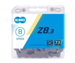 Lant KMC Z8.3, 116zale, argintiu-gri [0]