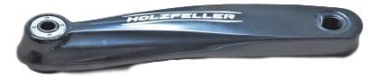 Left Arm Holzfeller Hw 170 Mirror Black0