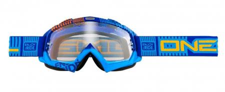 Ochelari O'Neal B-Flex Etr Albastru/Portocaliu Transparent0