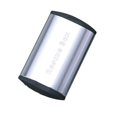 Cutie Petice Autoadezive Topeak Rescue Box, TRB01-S - Argintiu [0]
