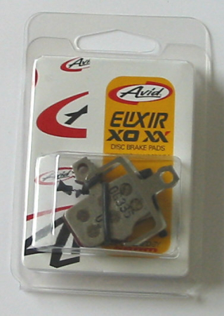 Placute Frana Disc Avid Elixir Sintered Pe Suport Otel, set3