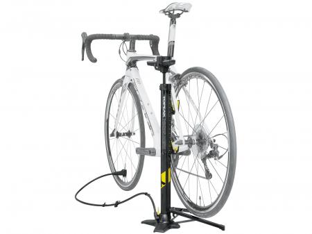 Pompa De Podea Topeak Transformer X Ttf-X01-01, Cu Stand Bicicleta, Neagra2