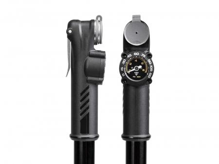 Pompa Mini Topeak Roadie Da G Trda-1G, Manometru, Neagra1