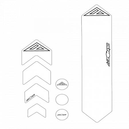 Protectie Cadru Azonic Tip Abtibild,Transparent - Azonic0