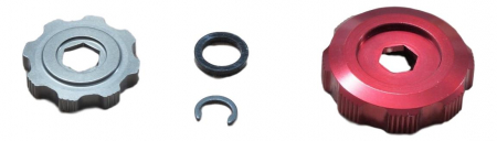 Rebound Damper Adjuster Knob Kit - 2010 Boxxer Team/Wc (Includes Low-Speed And Hi-Speed Adjuster Knobs) Not Compatible With 2011 Boxxer R2C2/Wc0