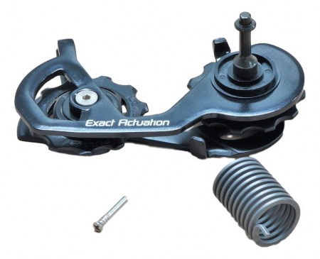 Rival Rear Derailleur Cage/Pulley Complete Kit Blk [0]