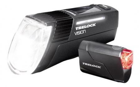Set far-stop Trelock LS760 I-Go Vision/ LS720 Reego, fata+spate, negre [0]