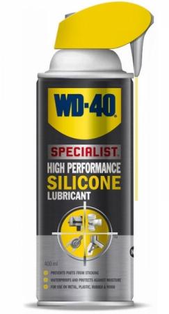 Spray Lubrifiant Wd40, Antiintepenire, Specialist Silicone, Capac Smart-Straw, 400Ml0