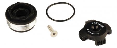 Top Cap/Preload Adjuster Knob, Aluminum 2011 Tora Tk0