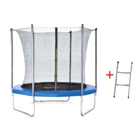 Trambulina pentru copii cu plasa interioara Byox 8FT 244 cm [2]