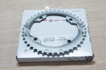 Xx Chain Ring 42T S1 120 Al6 Tungsten Grey S-Pin Bb30 10 Speed1