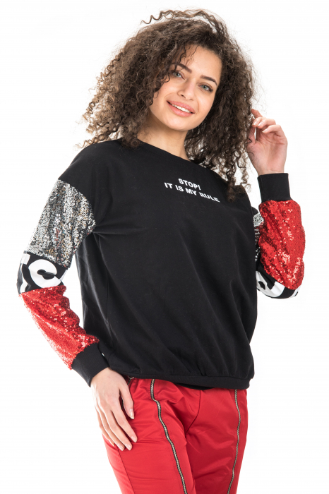 BLUZA TRENING STOP! IT IS MY RULE 1