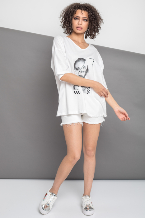TRICOU DAMA BE WHO YOU ARE [4]