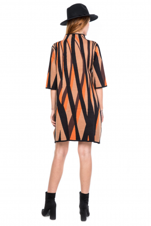 Rochie forme geometrice colorate2