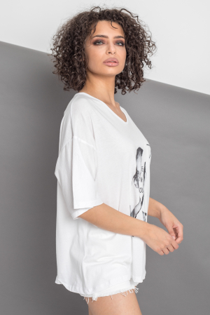 TRICOU DAMA BE WHO YOU ARE [6]