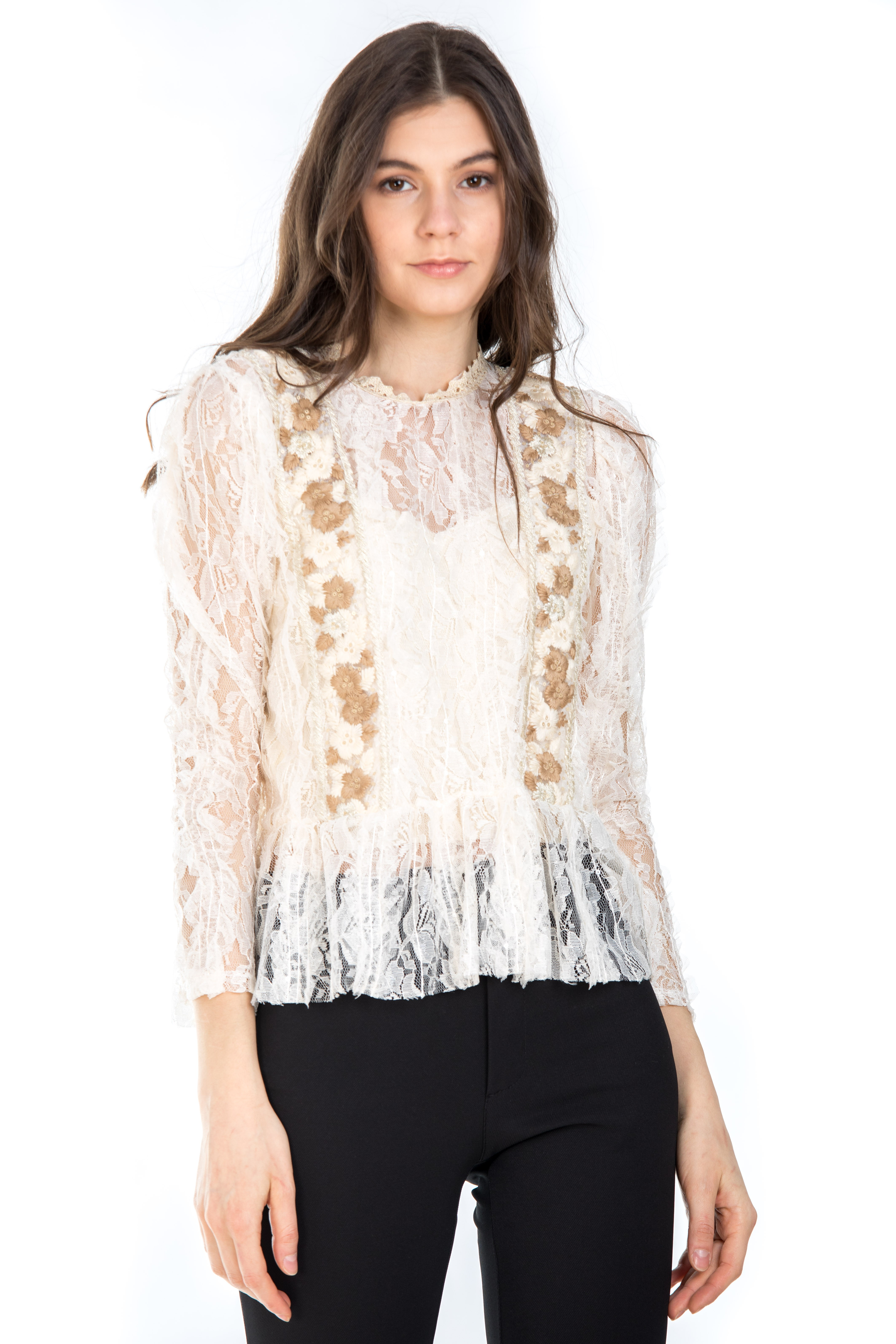 BLUZA BRODERIE AURIE0