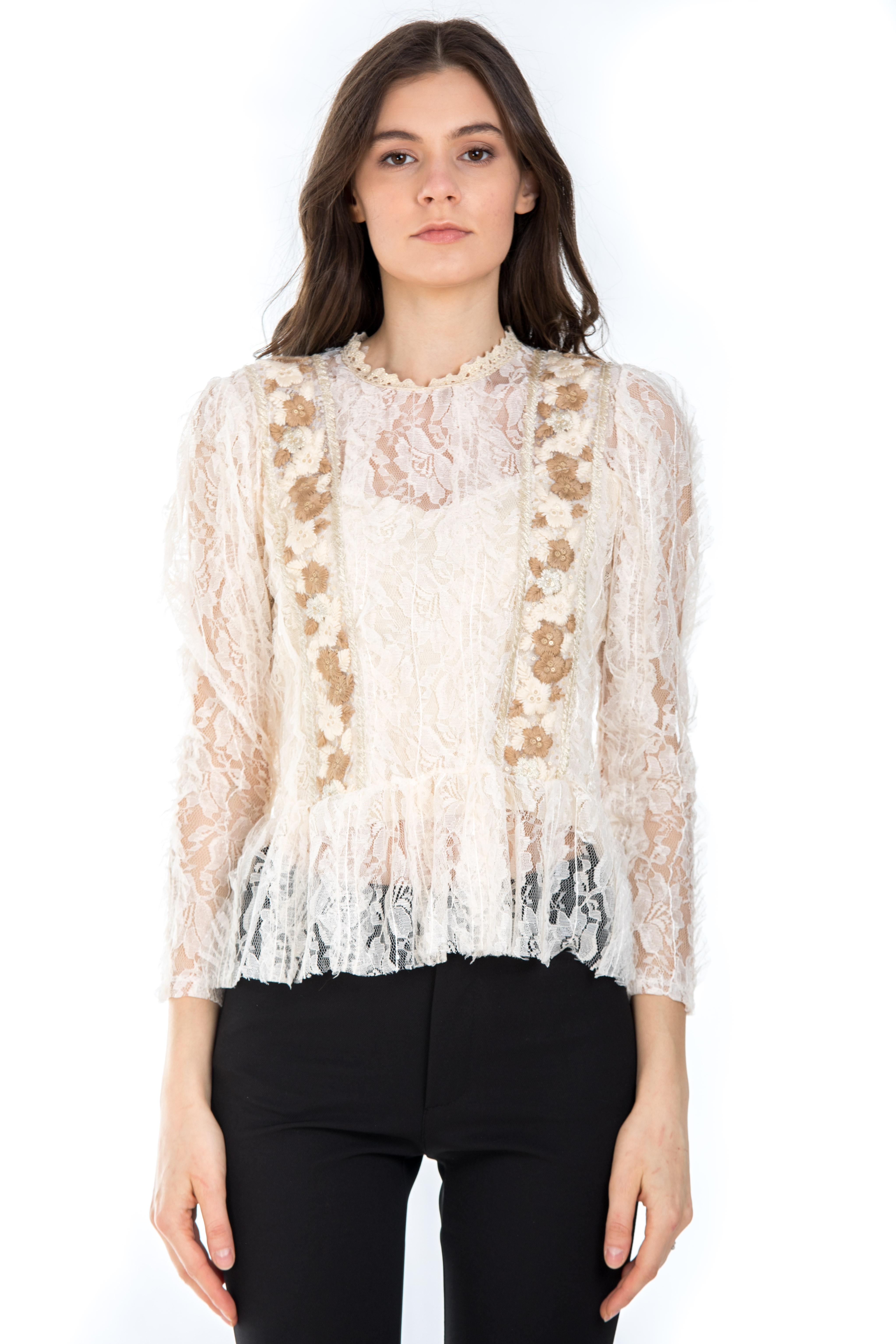BLUZA BRODERIE AURIE1