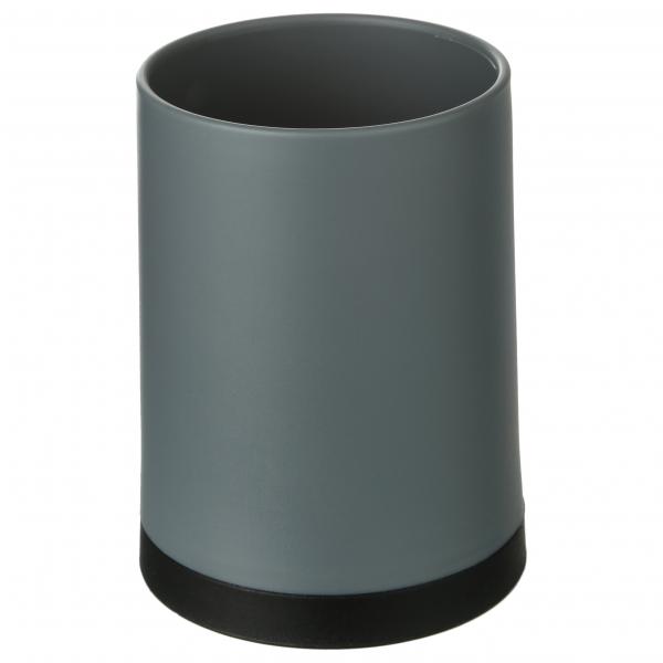 105558  Pahar PP gri, H 10.3 cm 0