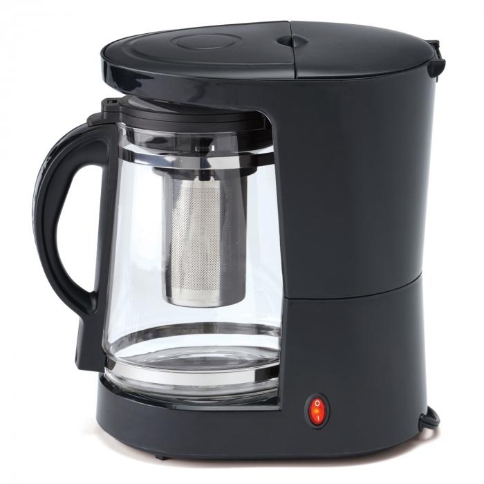 Cafetiera Albatros Dolce 2 in 1, 680 W, 1.2 l, capacitate 10 cesti, infuzor pentru ceai, negru [1]