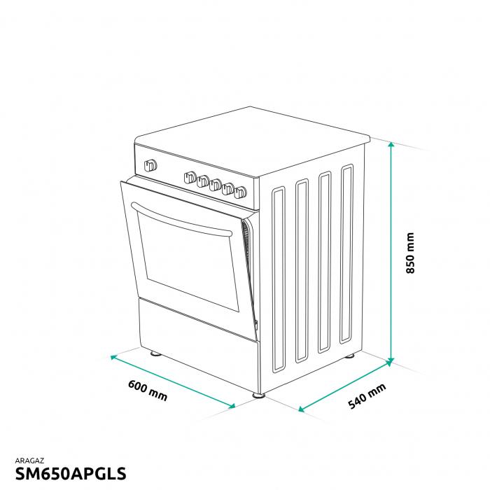 ARAGAZ SAMUS SM650APGLS [5]