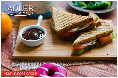 AD3015 Sandwich maker Adler, 750W 5