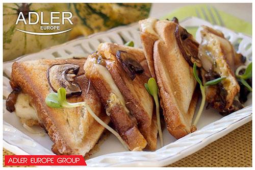 AD3015 Sandwich maker Adler, 750W 6