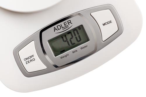 AD3137 Cantar de bucatarie Adler, 1.5 litri, 5 kg 2