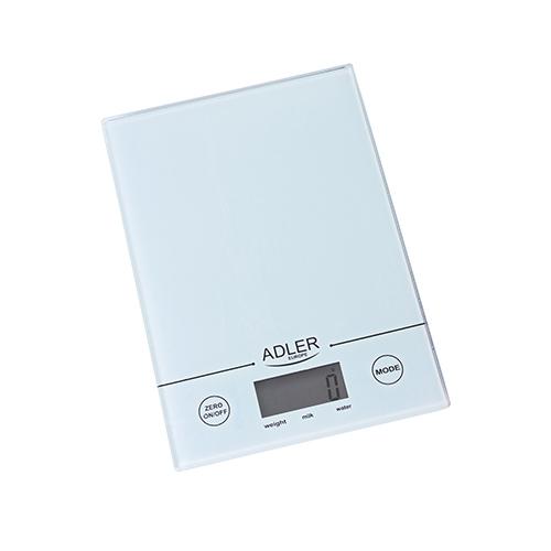 AD3138 Cantar bucatarie Adler, Monitoare & display LCD, Max. 5 Kg., gradatie de 1gram, auto zero 1