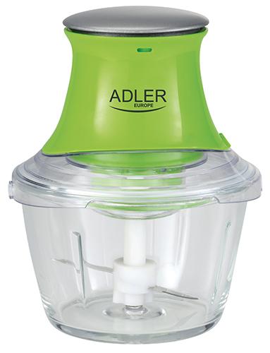 AD4056 Tocator legume, capacitate bol 1 L., Putere 300W, 2 cutit, functie tocat gheata 0