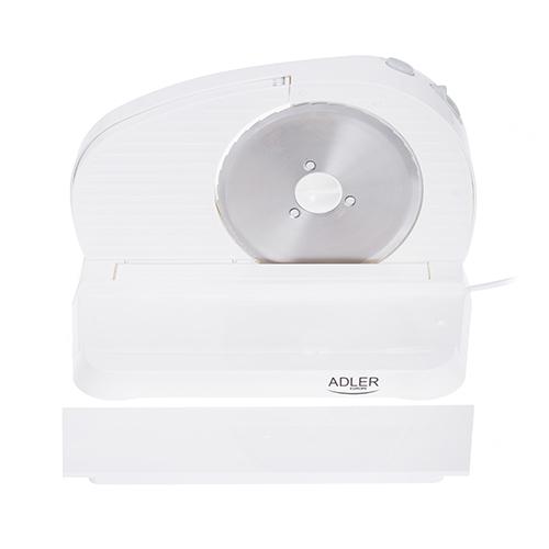 AD4701 Feliator Adler, putere 200W, cutit otel inoxidabil, indicator grosime, alb 0