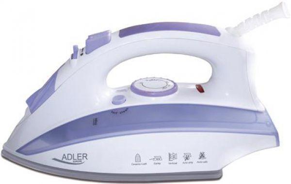 AD5011 Fier de calcat Adler, Putere 2000W, talpa ceramica, anti-calcar, anti-picurare 0